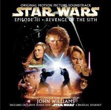 STAR WARS EPISODE III - REVENGE OF THE SITH CD & DVD ALBUM