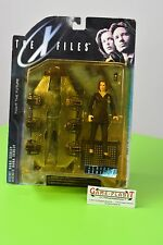 The X-Files series 1 agente Dana SCU Action Figure w/cadaver Elektra nuevo embalaje original rar
