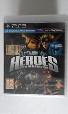 PS3 SONY PLAYSTATION 3 SEALED PLAYSTATION MOVE HEROES - SONY -
