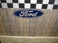 SIGN - FORD -  Metal Construction - 1/18 & 1/24 Scale Diorama