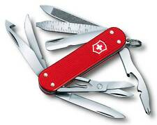 0.6381.20 VICTORINOX MINICHAMP ALOX SWISS ARMY POCKET KNIFE RED 0638120 16 TOOLS