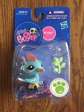 Littlest Pet Shop 1787 Blue Pink Woodpecker Bird New 4+