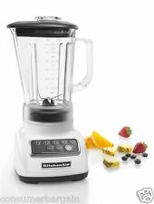 KitchenAid R-KSB1570WH 5 SPEED BLENDER 56 OZ. BPA FREE DIAMOND PITCHER - WHITE