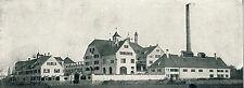 Cervecería bischofshof lluvia castillo historial & publicitarias 1925 cervezas Baviera publicidad
