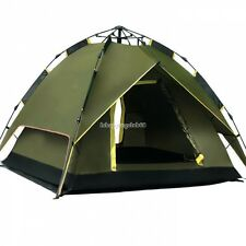 Automatic Instant Outdoor Pop up Family Large Tent for 4 People Hiking Camping