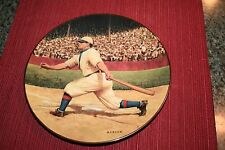 "Honus Wagner ""The Flying Dutchman"" Delphi The Legends Of Baseball Plate"