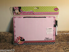 Disney MINNIE MOUSE  Dry Erase Board Marker Message Drawing NEW