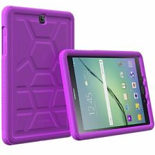 For Samsung Galaxy Tab S2 9.7 Poetic Turtle Skin Corner Silicone Bumper Case