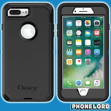 Genuine OtterBox Defender case cover for iPhone 7 PLUS Heavy Duty rugged BLACK
