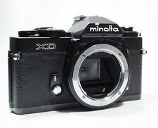 [Excellent+] Minolta XD 35mm SLR Film Camera Black Body Only  from Japan #556