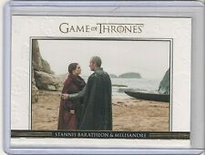 GAME OF THRONES SEASON 3 #DL9 STANNIS BARATHEON AND MELISANDRE #211/300 GOLD