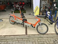 van Raam Doove Duo therapeutisches High-End Eltern kind Tandem kein Hase Pino