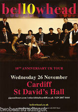 Event Promo Flyer: Bellowhead 10th Anniversary Tour (St David's, Cardiff, 2014)
