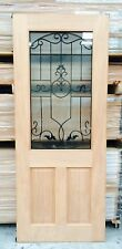 Regal 2 panel wrought iron toughened double glazed Ex/internal Door 2040x820x40
