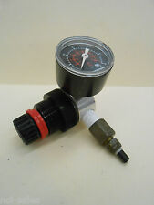 "NORGREN R06-2D7-NGEA 1/4"" WATER/AIR PRESSURE REGULATOR & 0-60 PSI GAUGE"