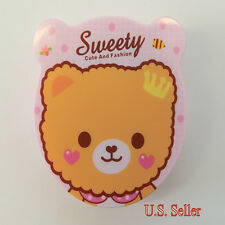 Sweety Queen Bear Contact-Lens Case Holder w/ Mirror & Accessories for Traveling