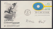 Doris Hart, American Tennis Champion, signed 10c Tennis FDC, Cert., SPORTS