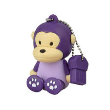Affe Monkey Lila - USB Stick 8 GB Speicher  USB Flash Drive