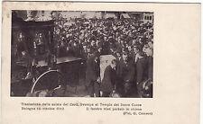 #BOLOGNA: TRASLAZIONE SALMA CARD. SVAMPA AL TEMPIO DEL SACRO CUORE 16-OTT.1912