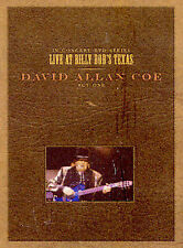 David Allan Coe DVD Live At Billy Bob's Texas Act One