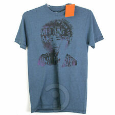 Mens Converse One Star Jimi Hendrix Distressed T-Shirt  Blue  L