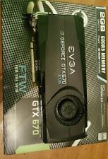 eVGA GeForce GTX 670 FTW  (2048 MB) (02GP43672B-1) Graphics Card