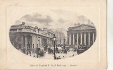 BF32213 bank of england royal exchange   london  uk  front/back image