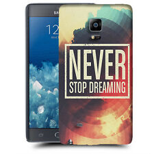 CUSTODIA COVER per SAMSUNG GALAXY NOTE EDGE N915 N915 TPU BACK CASE NEVER STOP D
