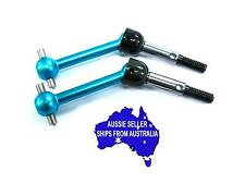 Blue alloy unis - drive shafts for Tamiya TT02 TT 02 TT01