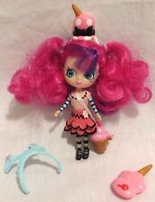 Littlest Pet Shop Blythe Doll B49 Moonlite Fairy Glows in the dark Pink Hair