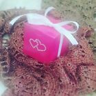 PINK HEART WEDDING BABY SHOWER CHRISTENING BIRTHDAY FAVOUR BONBONNIERE BOXES