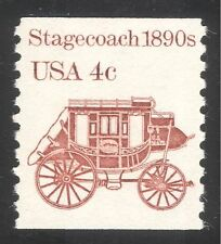 USA 1981 Horse drawn Stagecoach/Coach/Carriage/Transport 1v coil (n24537)