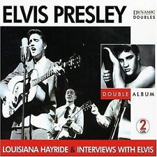 CD: ELVIS PRESLEY Louisiana Hayride & Interviews with Elvis 2 DISCS w/slipcase