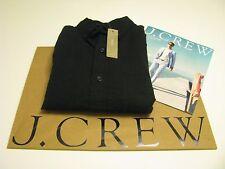 NWT AUTHENTIC J.CREW Men's SLIM SEERSUCKER STRIPE SHIRT  IN BLACK  SZ Small