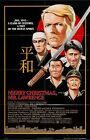 MERRY CHRISTMAS MR. LAWRENCE - 1983 - Original 27x40 movie poster - DAVID BOWIE