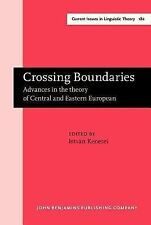 1999-12-15, Crossing Boundaries: Advances in  the theory of Central and Eastern