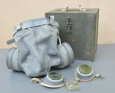 RARE SOVIET HORSE GAS MASK / RESPIRATOR WITH BOX WW2 / COLD WAR CAVALRY ORIGINAL