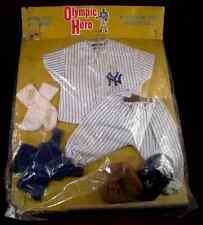 """NY Yankees """"1965"""" Johnny Hero doll in Box with uniform sealed NEW"""