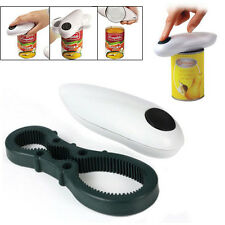 One Touch Automatic Handfree Electric Can Jar Opener Tin Open Tool Kit