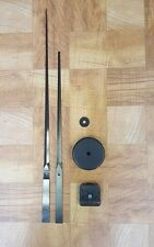 """Large Wall Clock Kit! 17-1/2"""" Hands + Movement + Wall Cover (511 17.5)"""