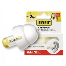 Alpine FlyFit Air Travel Ear Plugs Fly Noise Hearing Protection Flying Earplugs