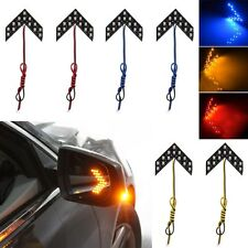 2 pcs 14-SMD LED Arrow Panels for Car Side Mirror Turn Signal Indicator Lights