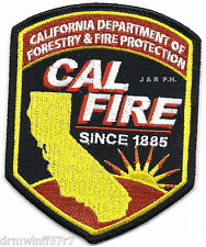 "Wildland - Cal. Dept. of Forestry & Fire Pro., CA  (3.5"" x 4.5"" size) fire patch"