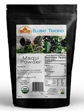 8 oz. Organic Maqui Berry Powder Freeze Dried Bag 1/2 LB FREE SHIPPING