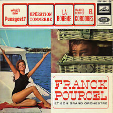 FRANCK POURCEL HELLO, PUSSYCAT / THUNDERBALL FRENCH ORIG EP