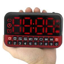 Schermata Radio FM Lettore MP3 USB Speaker Multimedia RadioRicevitore Sveglia IT