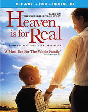 Heaven Is for Real (Blu-ray/DVD, 2014, 2-Disc Set, Includes Digital Copy) - NEW!