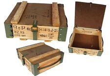 Cassetta trasporto Scatola legno usato Shabby Chic Cassa Contenitore di vino