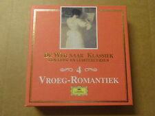 2 CD BOX / DE WEG NAAR KLASSIEK: 4 VROEG-ROMANTIEK (DEUTSCHE GRAMMOPHON)