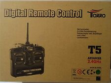 2.4 GHz Radio controll Set with FB, Drive controller & Speaker , Torro , NEU